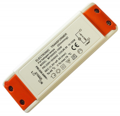 Elektronischer Halogen Trafo 105W Dimmbar