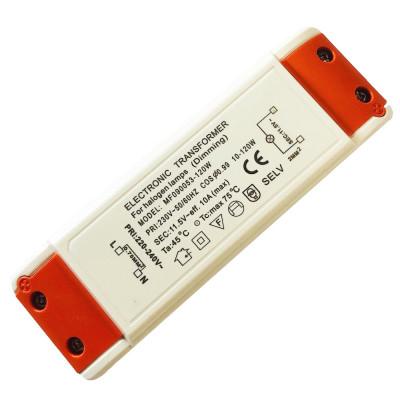 Elektronischer LED Trafo 30W Eckig Flach Kurzschlussfest