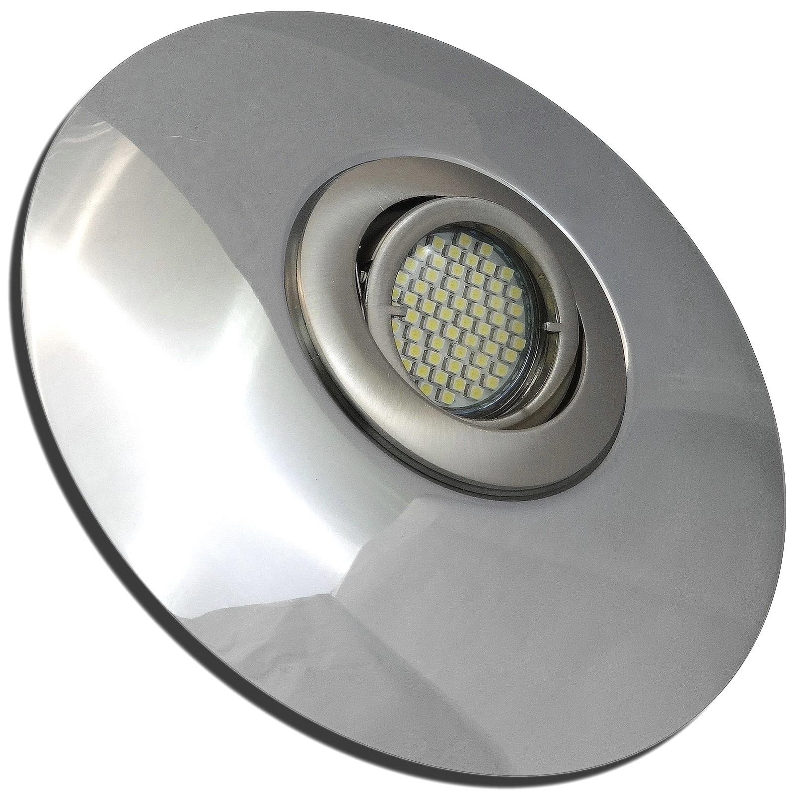 flacher led einbaustrahler lenja 12 volt 3 watt inkl led trafo lampen platz. Black Bedroom Furniture Sets. Home Design Ideas