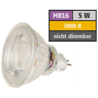 LED Glas Einbaustrahler Lotta 12V Eckig 3W IP20 250lm