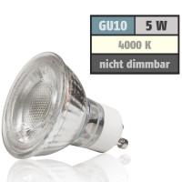 5 W Decken Einbaustrahler Marie 230 Volt LED GU10 Schwenkbar