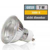 7 W Decken Einbaustrahler Linus 230 Volt LED GU10 Schwenkbar