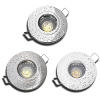 3 W Bad Einbaustrahler Wave 12 Volt LED GU5.3 Starr