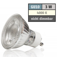 3 W Bad Einbaustrahler Wave 230 Volt LED GU10 Starr