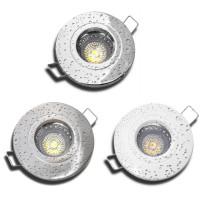 5 W Bad Einbaustrahler Wave 230 Volt LED GU10 Starr