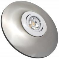 LED Möbeleinbaustrahler Luna 12 V 3 W inkl.Trafo und Zuleitung
