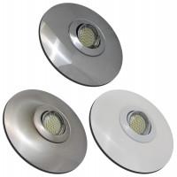Flacher LED Einbaustrahler Lenja 12 Volt 3 Watt inkl. AMP-Stecker
