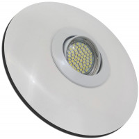 Flacher LED Einbauspot Lenja 12V 3W mit Trafo und Zuleitung