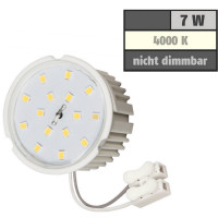 5 Watt Flacher Einbaustrahler Elisa 230 Volt MCOB Modul