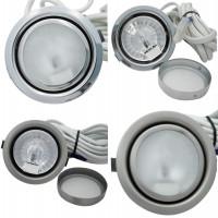 Möbelstrahler Merida 12 Volt 10 Watt inkl. Trafo und Zuleitung