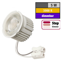 5 Watt MCOB LED Modul 230 Volt Step Dimmbar Warmweiß