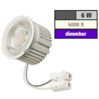 6 Watt MCOB LED Modul 230 Volt Dimmbar Neutralweiß