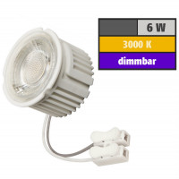 6 Watt MCOB LED Modul 230 Volt Dimmbar Warmweiß