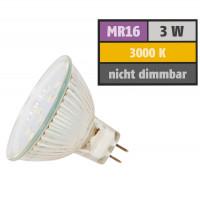3 Watt SMD LED Leuchtmittel 12 Volt GU5.3 Warmweiß