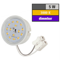 5 Watt SMD LED Modul 230 Volt Dimmbar Warmweiß