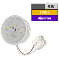 5 Watt SMD LED Modul 230 Volt Dimmbar Warmweiß