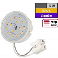 5 Watt SMD LED Modul 230 Volt Step Dimmbar Warmweiß