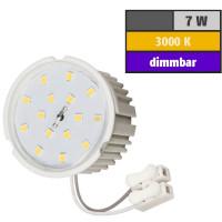 7 Watt SMD LED Modul 230 Volt Dimmbar Warmweiß