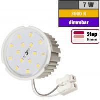 7 Watt SMD LED Modul 230 Volt Step Dimmbar Warmweiß