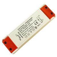 Elektronischer LED Transformator 30 Watt Eckig Flach