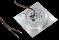 LED Boden Einbaustrahler Lisa 12V 0.5W Eckig