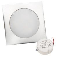 LED Boden Einbaustrahler Lisa 12V 0.5W Eckig inkl. Trafo